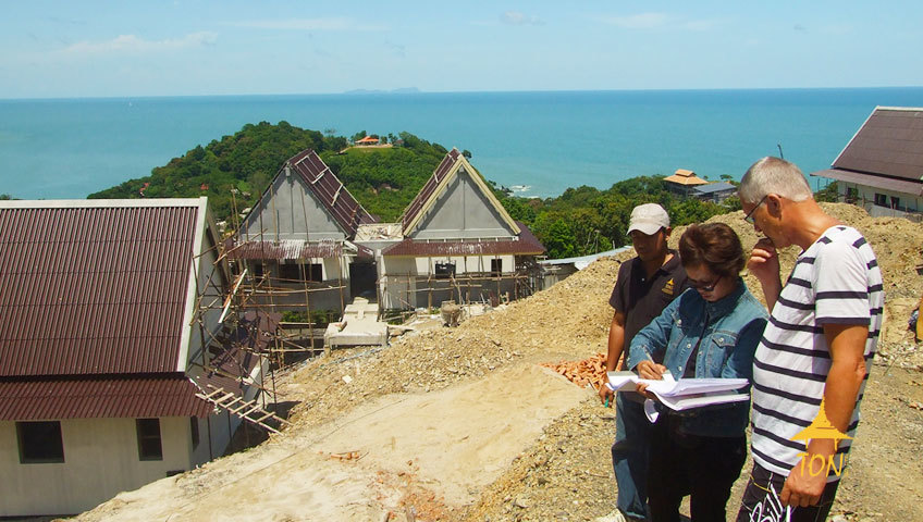 Building a property in Krabi